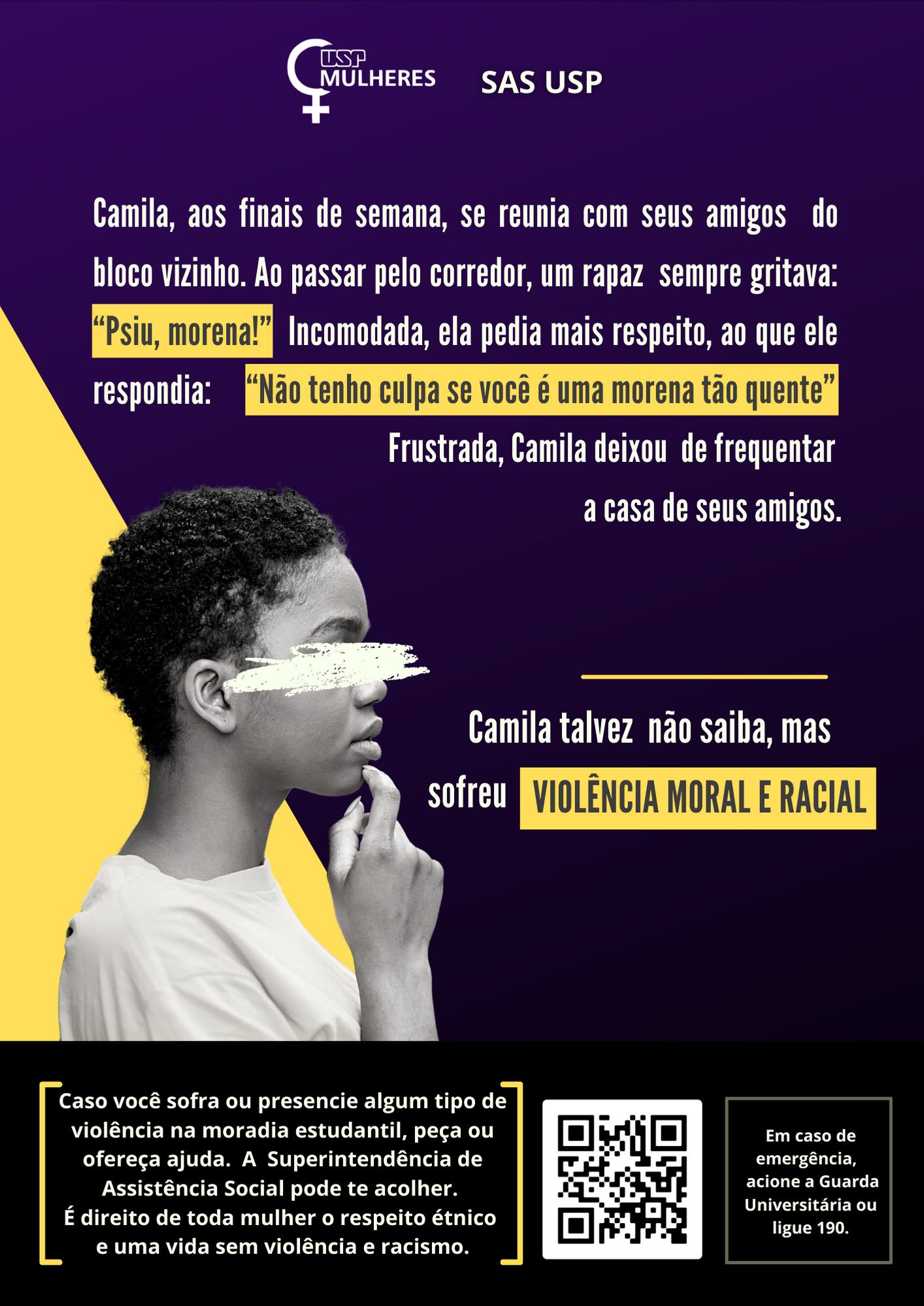 Violência moral e racial